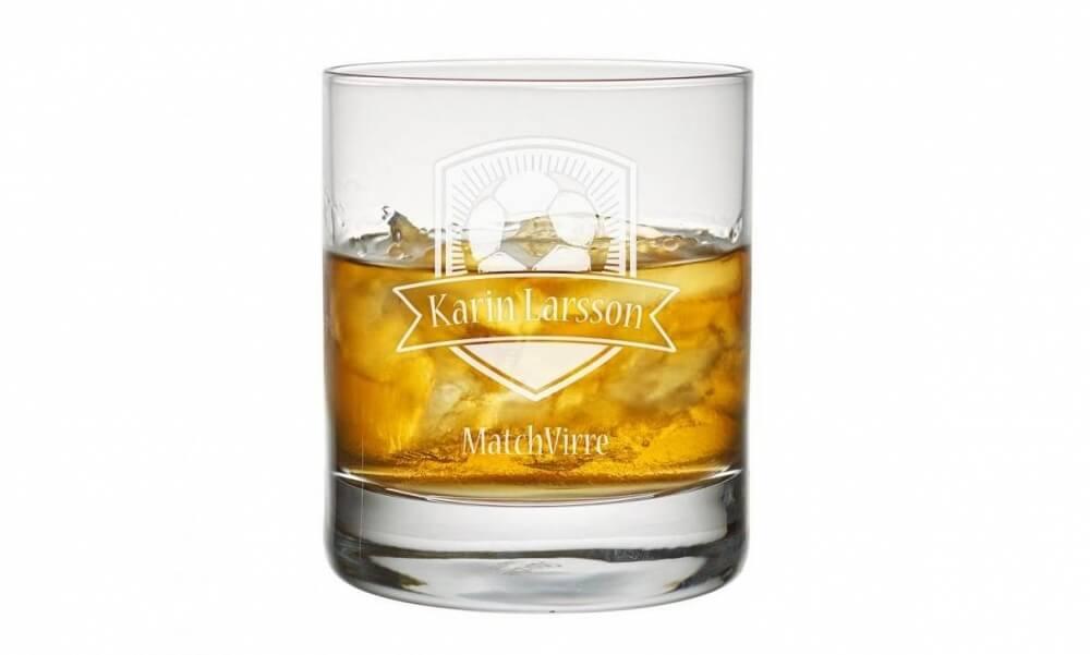Whiskyglas fotboll