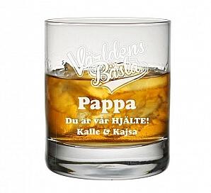 Whiskyglas pappa