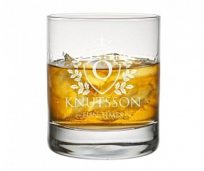 Whiskyglas sköld