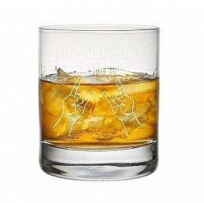 Whiskyglas till hårdrockare